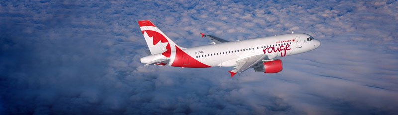 Air Canada Rouge Flights