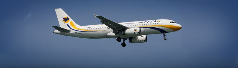 Myanmar Airways International Flights